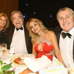 Peter Shilton England Legend with Ian Freeman from The Royal Variety Charity